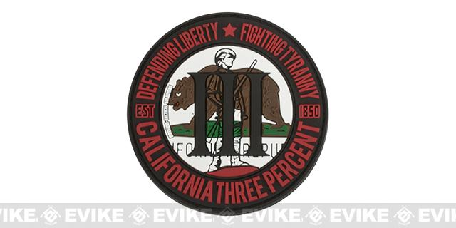 MoeGuns PVC III% Patch - California