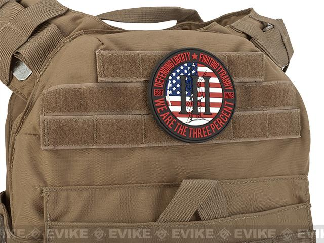MoeGuns PVC III% Patch - USA