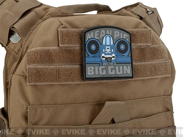 MoeGuns PVC Mean Pig Patch - Color