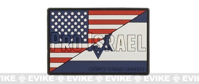MoeGuns PVC Pro-Israel Patch