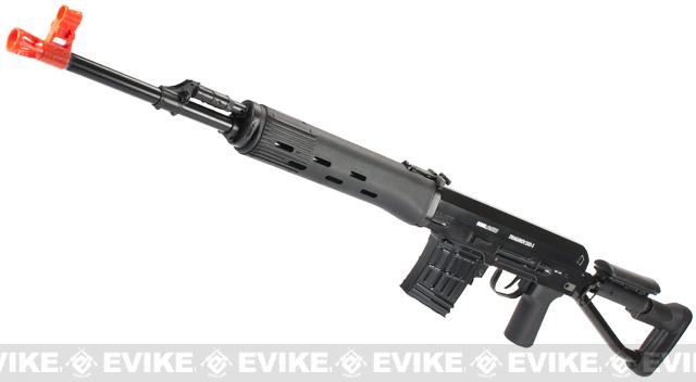 Dragunov Izmash licensed SVD-S Airsoft Sniper Rifle by ARES / ASG
