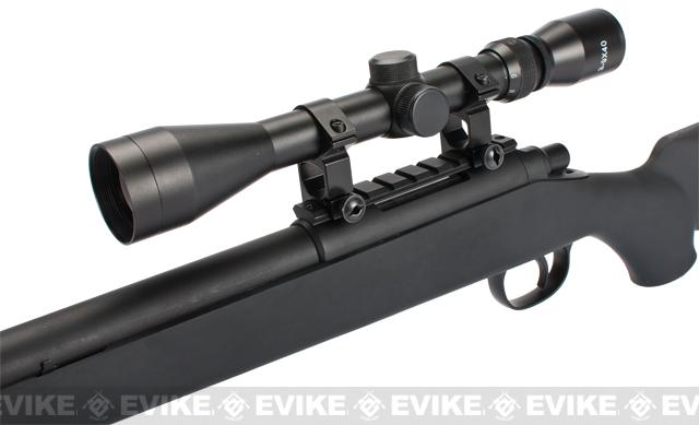 CSI VSR-10 G-SPEC Bolt Action Airsoft Sniper Rifle with Mock Silencer - (Package: Rifle)