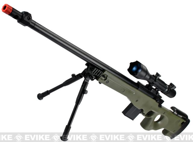 Pre-Order ETA October 2016 Matrix Marui Clone L96 AWS Bolt Action Airsoft Sniper Rifle w/ Scope - OD Green