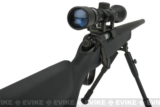 Matrix VSR-10 MB03 Bolt Action Airsoft Sniper Rifle by WELL - Black (Package: Rifle)