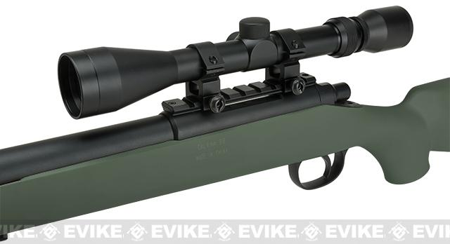 Matrix VSR-10 MB03 Bolt Action Airsoft Sniper Rifle by WELL - OD Green (Package: Rifle)