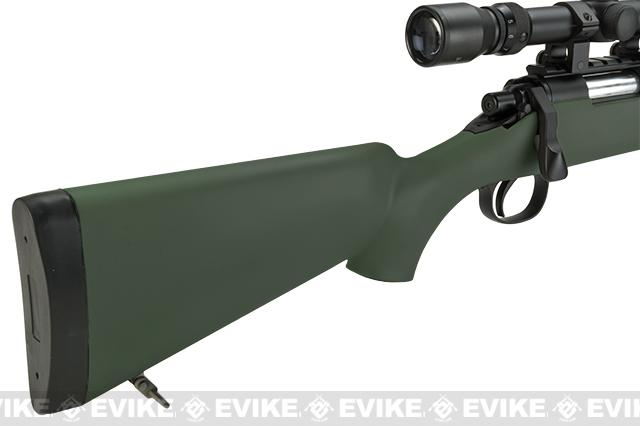 Pre-Order ETA May 2017 Matrix VSR-10 MB03 Bolt Action Airsoft Sniper Rifle by WELL - OD Green (Package: Add Bipod)
