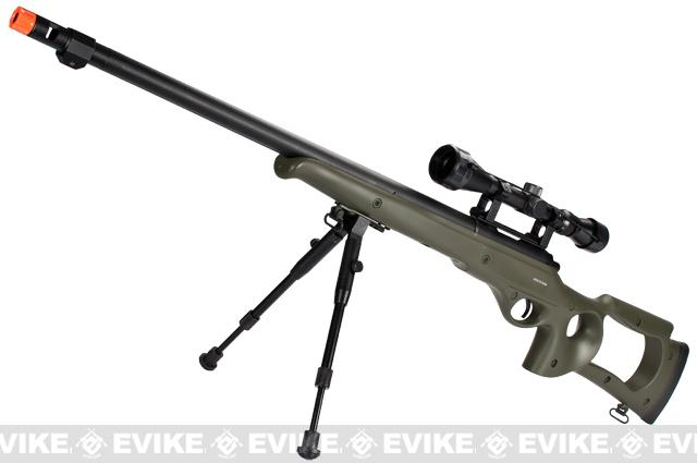 Matrix / WELL VSR10 MB09 Airsoft Bolt Action Sniper Rifle (Color: OD Green - Package C)