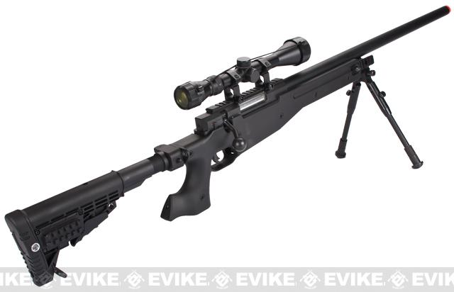 Matrix Custom MK96 MB14 APS2 Bolt Action Airsoft Sniper Rifle with Scope & Bipod