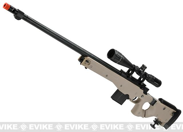 Bone Yard - WELL L96 Bolt Action Airsoft Sniper Rifle w/ Folding Stock (Store Display, Non-Working Or Refurbished Models)