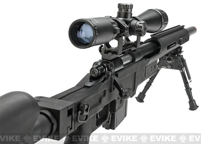 WELL MB4410D Bolt Action Airsoft Sniper Rifle - Black (Package: Rifle)