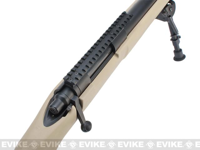 z Modify Pre-Upgraded M24 Airsoft Bolt Action Sniper Rifle - Desert Tan