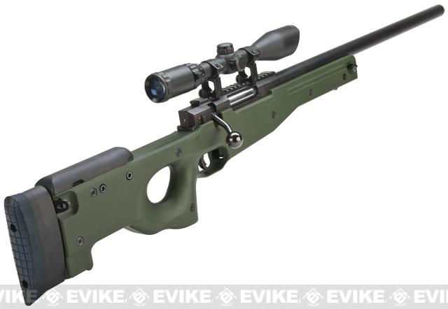 Maruzen APS Type 96 Airsoft Sniper Rifle - OD Green (Package: Add 3-12x50 Scope)