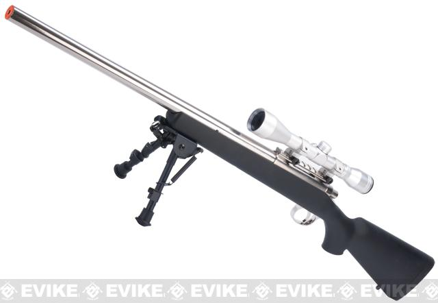 Tokyo Marui Pro Hunter Stainless Steel VSR-10 Airsoft Sniper Rifle - Black