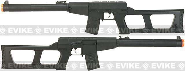 S&T Full Metal VSS Full Size Airsoft AEG Rifle - Black
