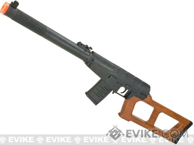 S&T Full Metal VSS Airsoft AEG Rifle - Imitation Wood