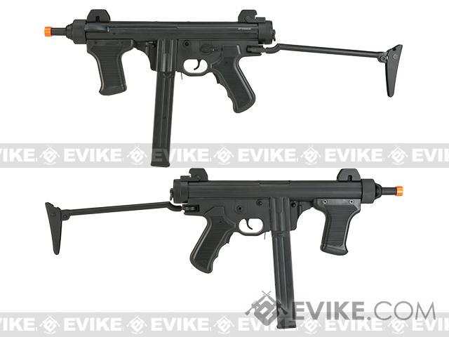 S&T Model 12 Full Metal Airsoft AEG Sub-Machine Gun with Folding Stock - Black