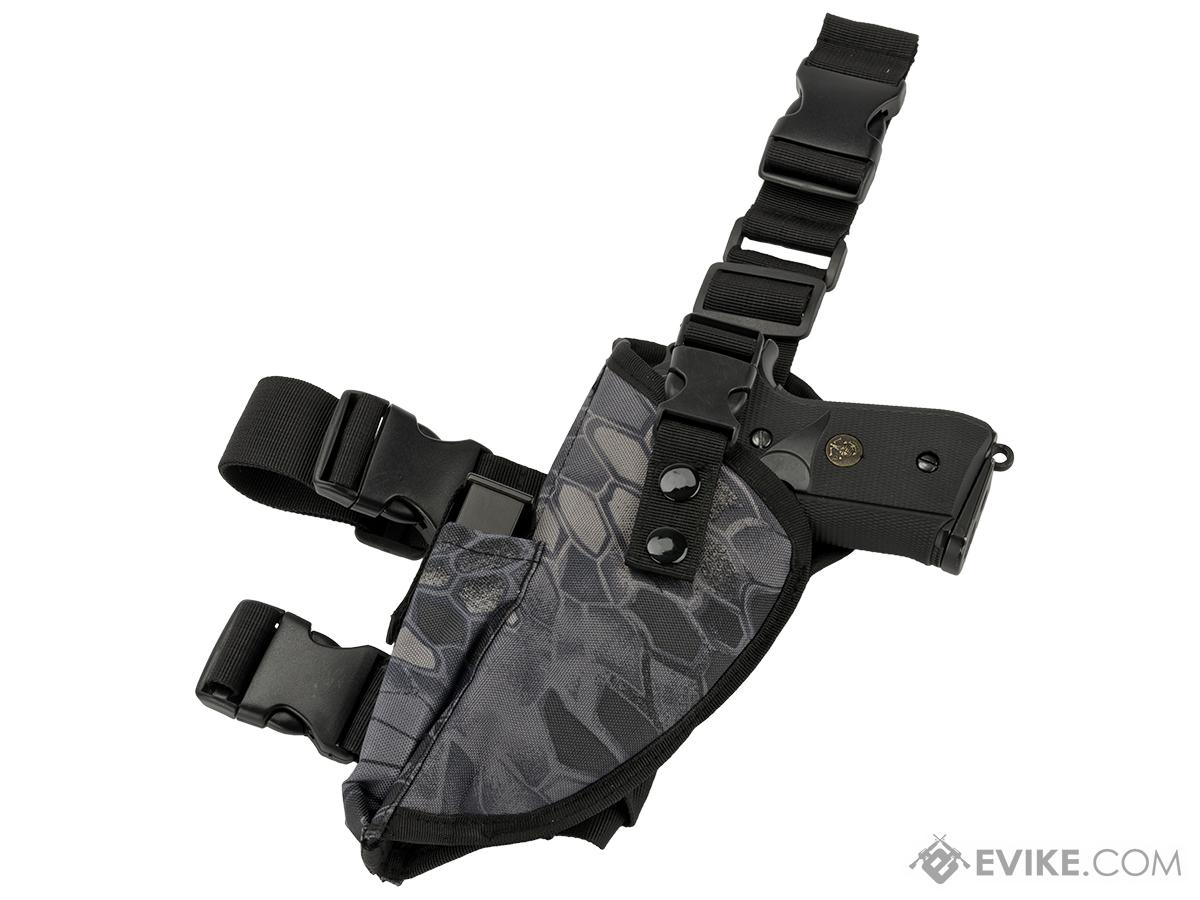 Matrix Deluxe Tactical Thigh Holster - Left Leg / Urban Serpent
