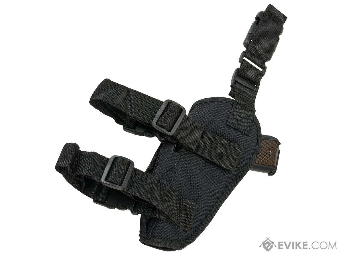 Matrix Deluxe Tactical Thigh Holster - Right Leg / Black
