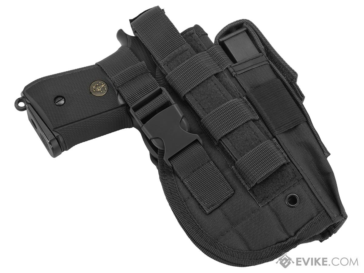 Matrix ST24-2 MOLLE Holster for Airsoft Pistols - Black