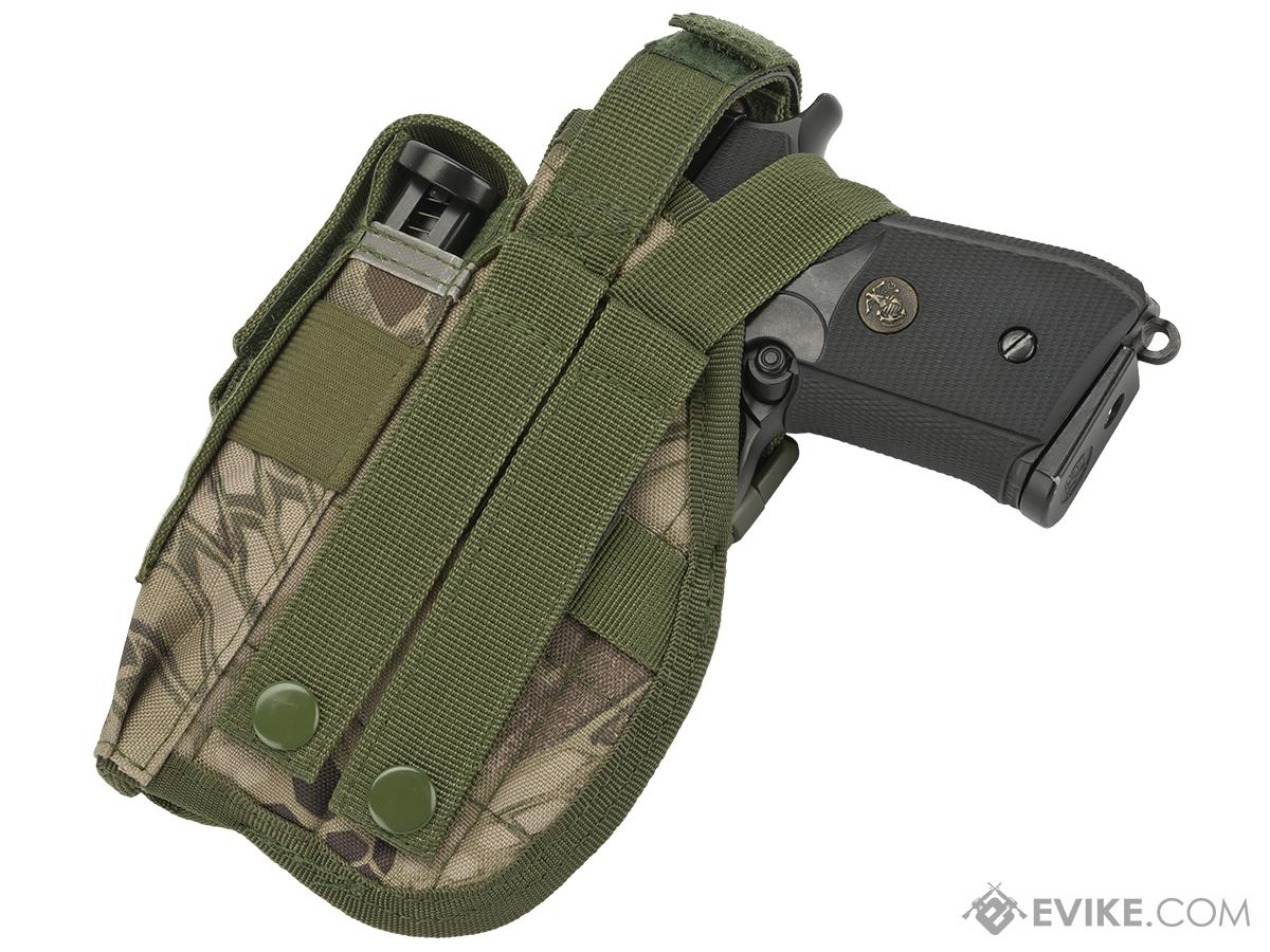 Matrix ST24-2 MOLLE Holster for Airsoft Pistols - Forest Serpent