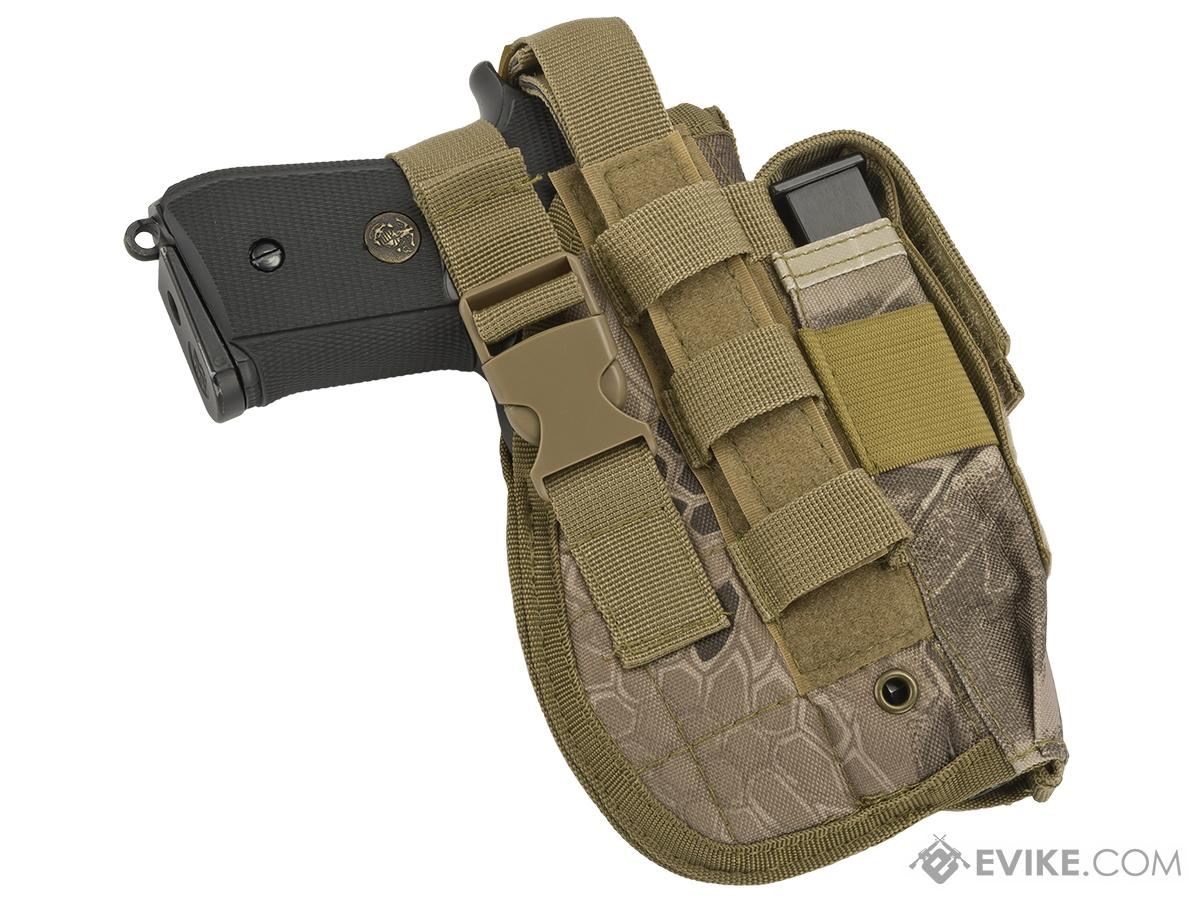Matrix ST24-2 MOLLE Holster for Airsoft Pistols - Desert Serpent
