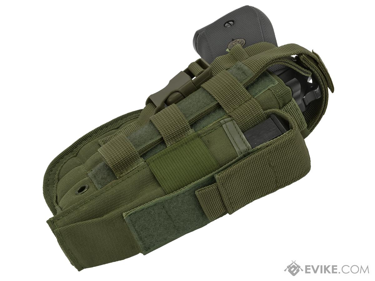 Matrix ST24-2 MOLLE Holster for Airsoft Pistols - OD Green