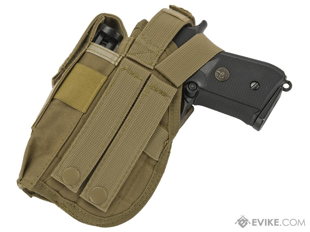 Matrix ST24-2 MOLLE Holster for Airsoft Pistols - Tan