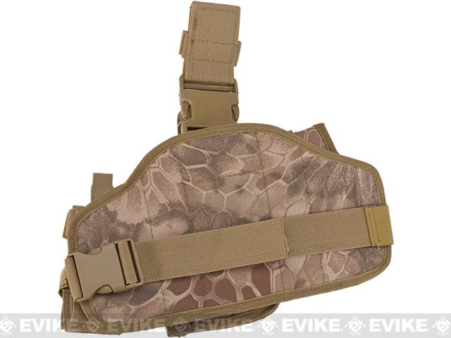 Matrix Drop Leg MOLLE Platform w/ Holster and Pouch Set - Desert Serpent