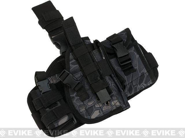 Matrix Drop Leg MOLLE Platform w/ Holster and Pouch Set - Urban Serpent