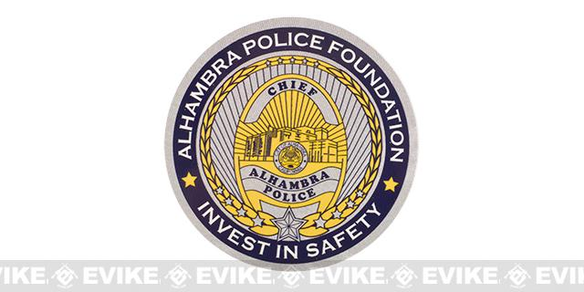 Evike.com 3 Alhambra Police Foundation Die Cut Vinyl Sticker