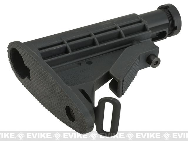 Classic Army A412P M4 6 Position Collapsible Stock with Buffer Tube - Short Version