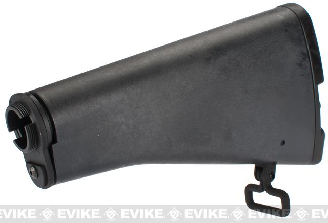 G&P CAR-15 Adjustable Fixed Stock for M4 / M16 Series Airsoft AEG Rifles