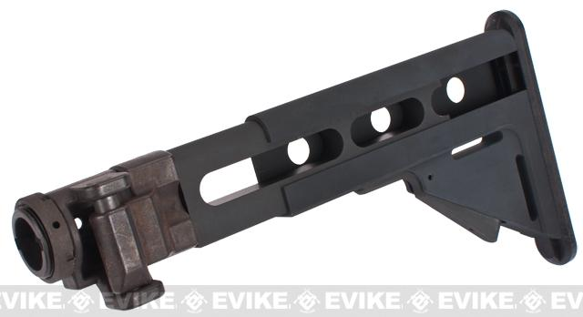z G&G LR300 Type 5-Postion Metal Folding Stock for M4 M16 Series Airsoft AEG Rifles