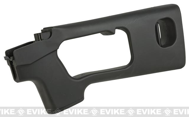 A&K SVD Stock for SVD Series Airsoft Sniper Rifles - Polymer