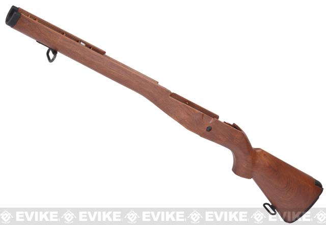 Matrix M14 Stock Set with Butt Plate and Sling Adapter - Imitation Wood