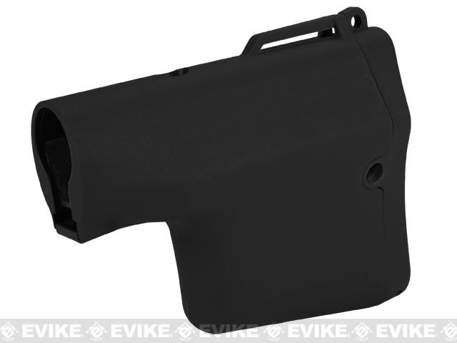 Madbull Airsoft TROY Battle Ax Retractable Stock for M4 / M16 Series Airsoft AEG Rifles - Black