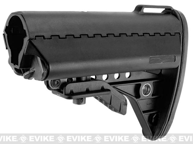 Avengers MOD-II Special Force Stock for M4 Series Airsoft AEG Rifles - Black