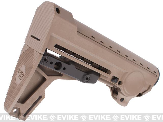 z PTS Ergo F93 8-Position Pro Retractable Stock for M4 / M16 Series Airsoft AEGs - Dark Earth