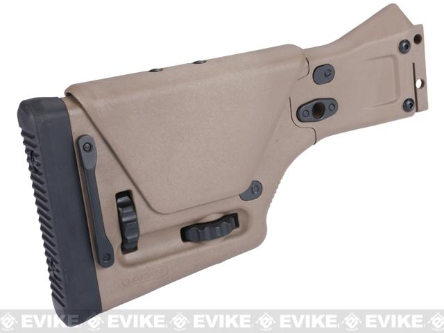 Magpul PTS Stock for ACR Airsoft AEG Rifles - Dark Earth