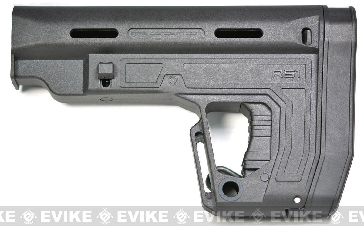 APS RS-1 Retractable Stock for M4/M16 Airsoft AEGs - Black