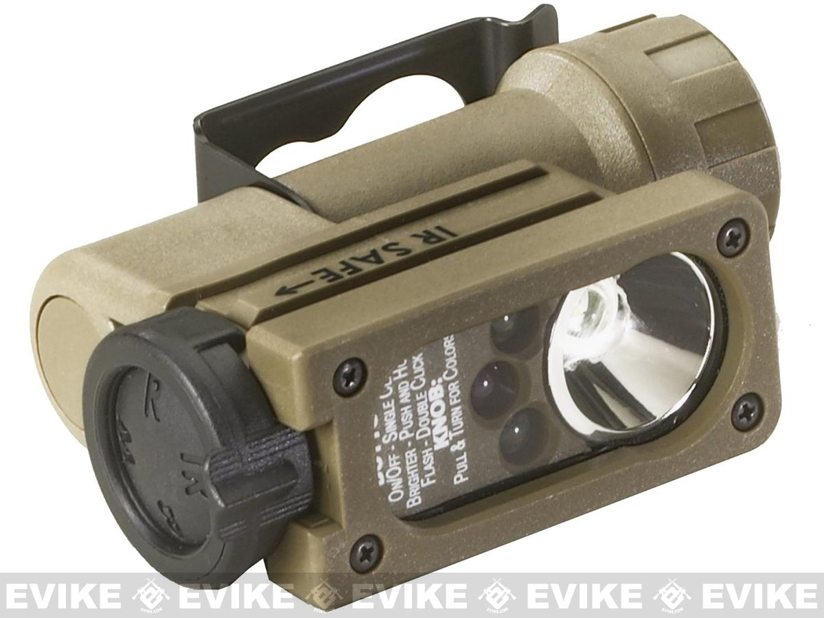 Streamlight Sidewinder Compact  Helmet Light System - Coyote