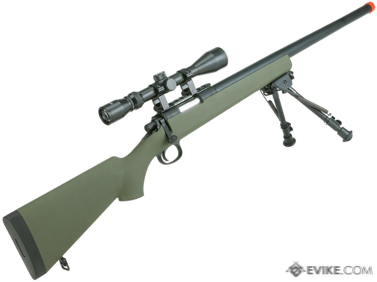 Snow Wolf VSR10 / M700 Bolt Action Sniper Rifle  - Green