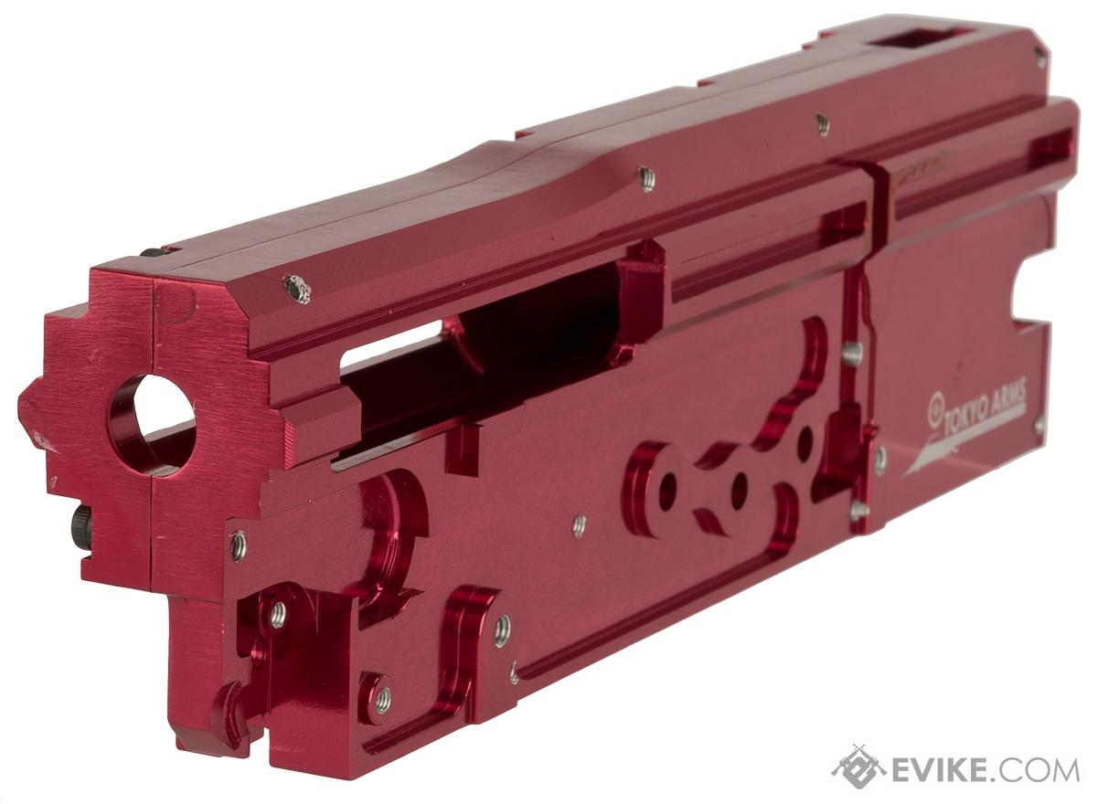 Matrix CNC 8mm  Gearbox Shell for M249  Series Airsoft AEG Rifles - Red