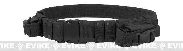 Condor Tactical Pistol Belt with mag Pouches- Black