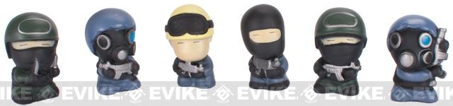 IPSC Counter Strike Heroes and Terrorists Action Figure Airsoft Target Set - (Small)