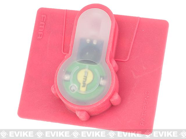 FMA Tactical IFF LED S-Lite Light Patch (Color: Green Strobe/Pink Case)