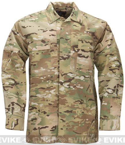 5.11 Tactical Ripstop TDU Longsleeve Shirt - Multicam (Size: Medium)