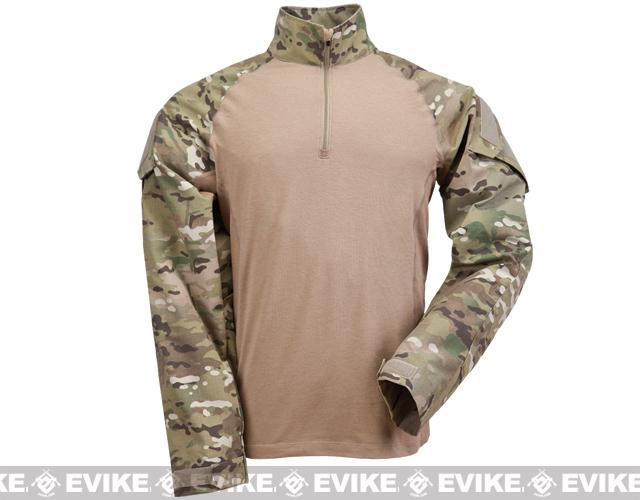 5.11 Tactical TDU Rapid Assault Shirt (Size: XXL) - Multicam