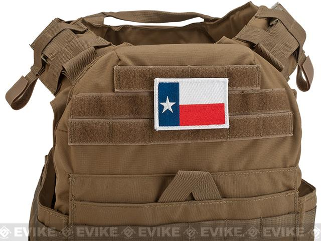 Evike.com Tactical Embroidered Flag Patch (State: Texas The Lone Star State)