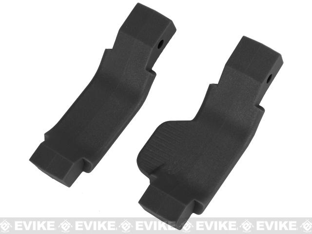 Strike Industries Cobra Series Airsoft M4 / M16 / AR Trigger Guards (Righty / Classic) - Black